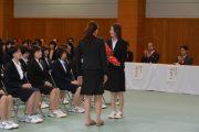 H29入学式 花束贈呈