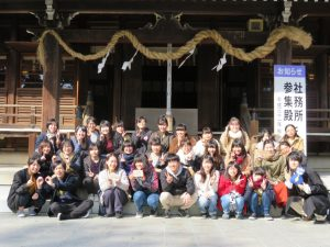 焼津神社にみんなでお参りしました!